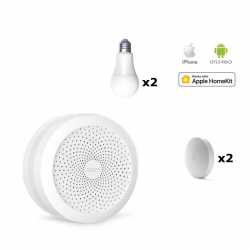 Hub + Lights + Buttons Kit