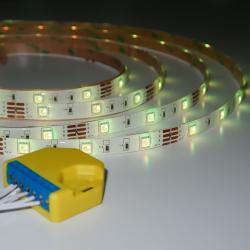 Banda LED RGB cu Controller Wi-Fi