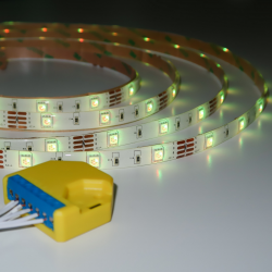 LED RGB light strip with...